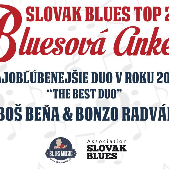 Ľuboš Beňa a Bonzo Radványi Najlepšie bluesové duo na Slovensku