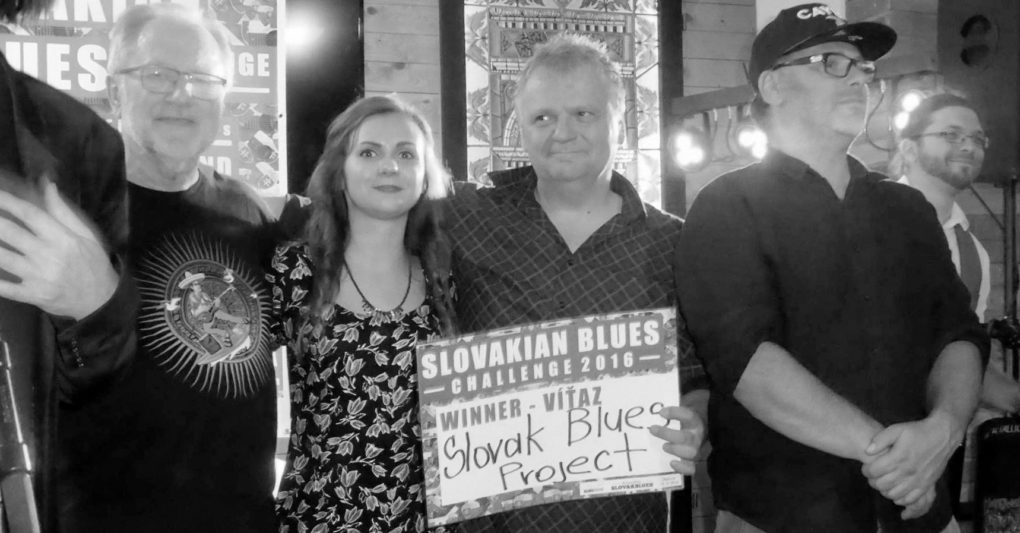 Slovak Blues Project víťaz Slovakian Blues Challenge 2016
