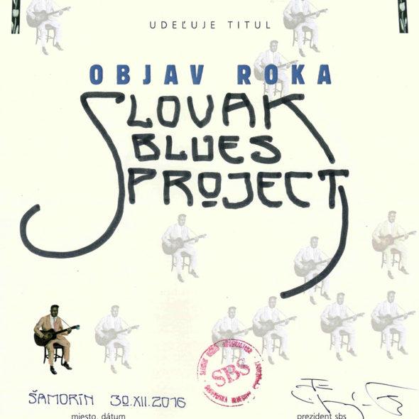 Objav roka Slovak Blues Project