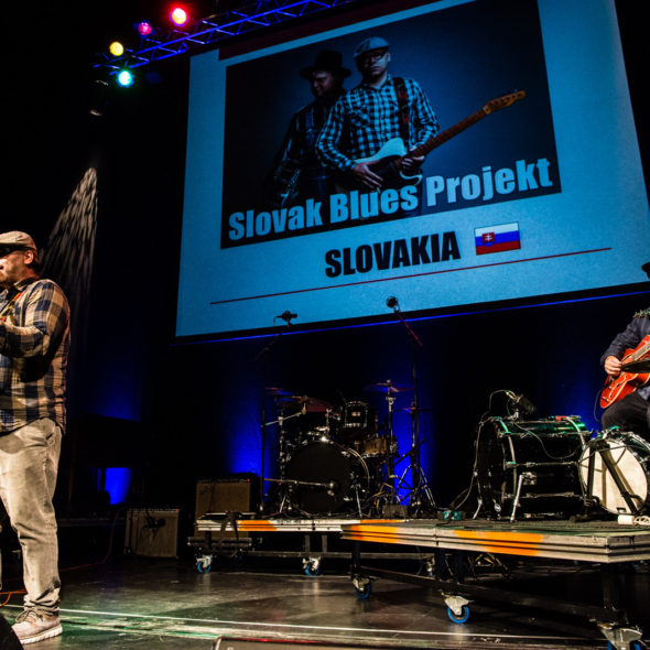 Slovak Blues Project - European Blues Challenge 2017 Horsens