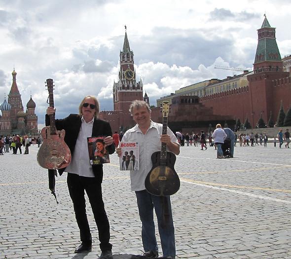 Beňa a Radványi v Moskve