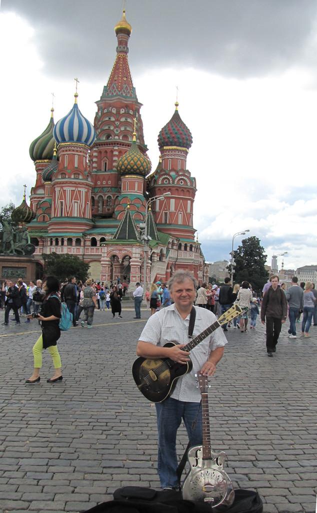 Ľuboš Beňa v Moskve 2015