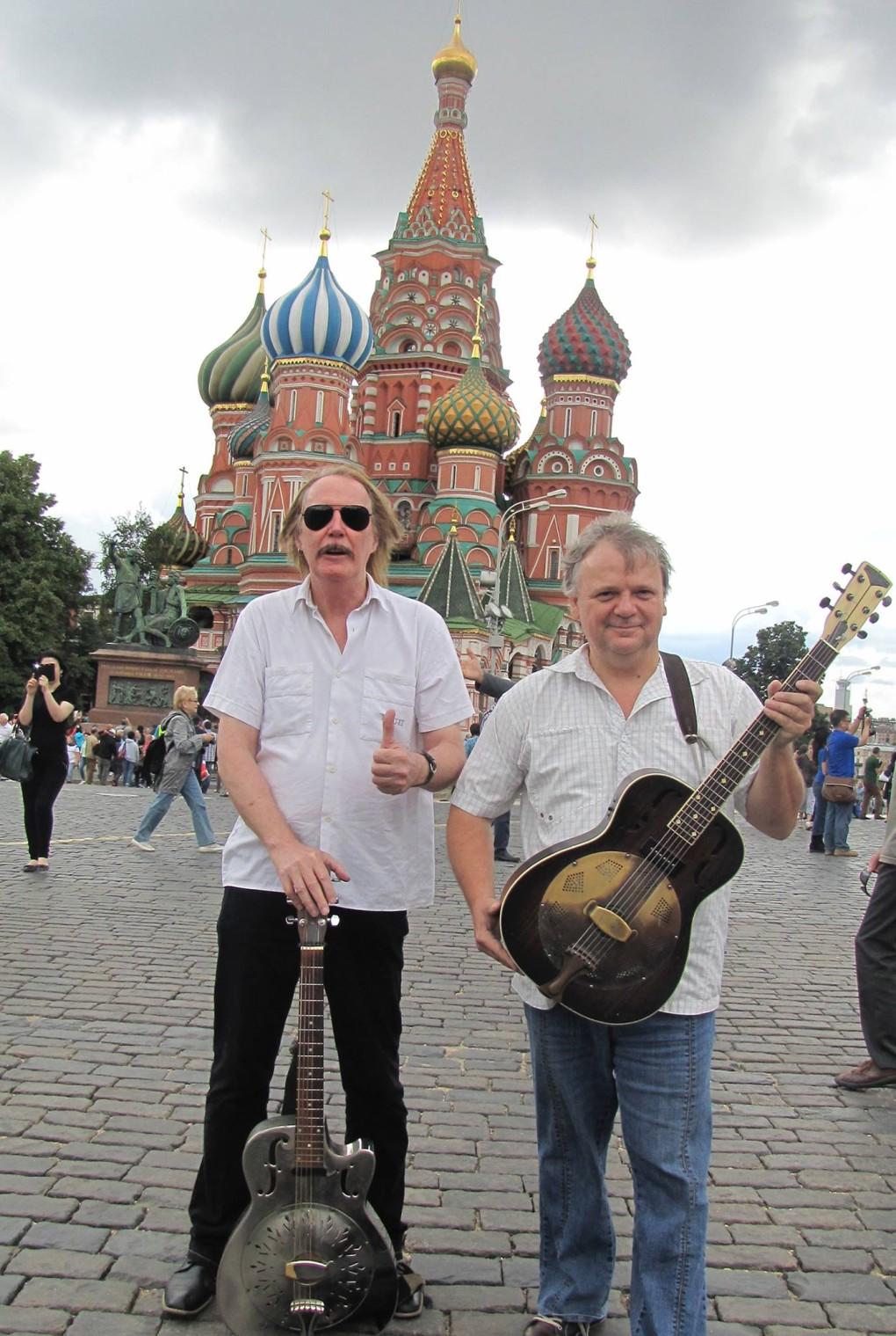 Beňa & Radványi v Moskve