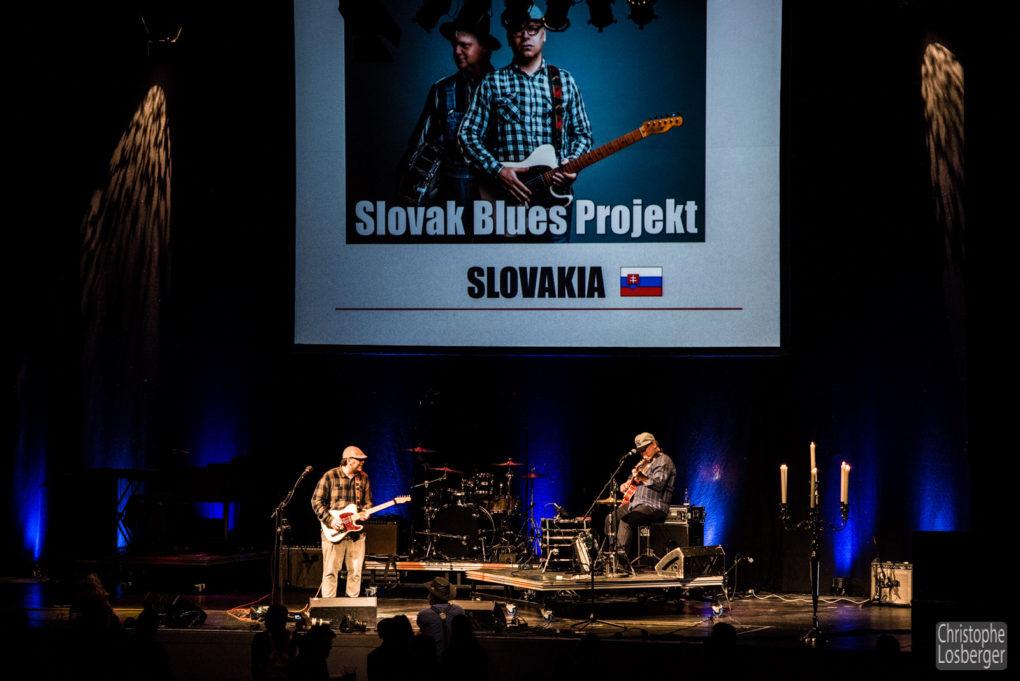 Slovak Blues Project - European Blues Challenge 2017 Horsens